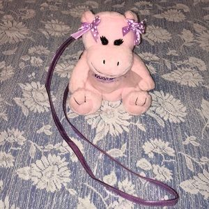 Pretty Pink Piggy Purse